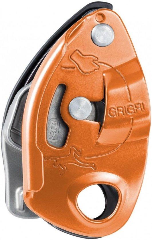 Petzl GriGri ons meestverkochte zekerapparaat Oranje