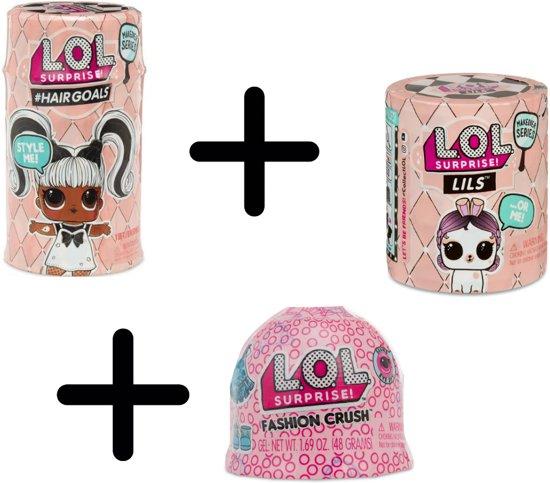 LOL Surprise Hairgoal + Lils makeover + fashion crush