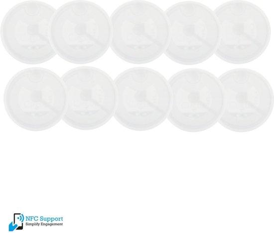 NFC Tags NTAG213 stickers on metal 100 stuks