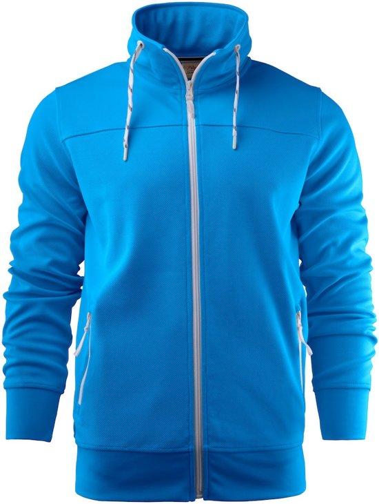 Printer Jog Sweatshirt 2262036 Oceaanblauw - Maat XL