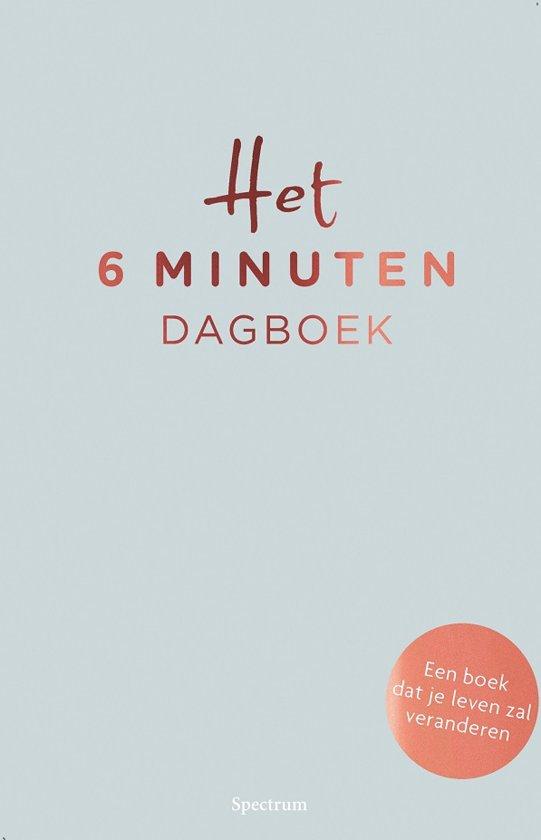 Boek cover Het 6 minuten dagboek van Dominique Spenst (Hardcover)