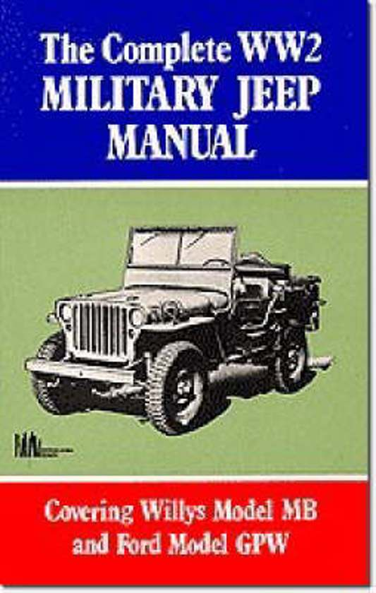 Boek cover The Complete WW2 Military Jeep Manual van Us Army (Paperback)