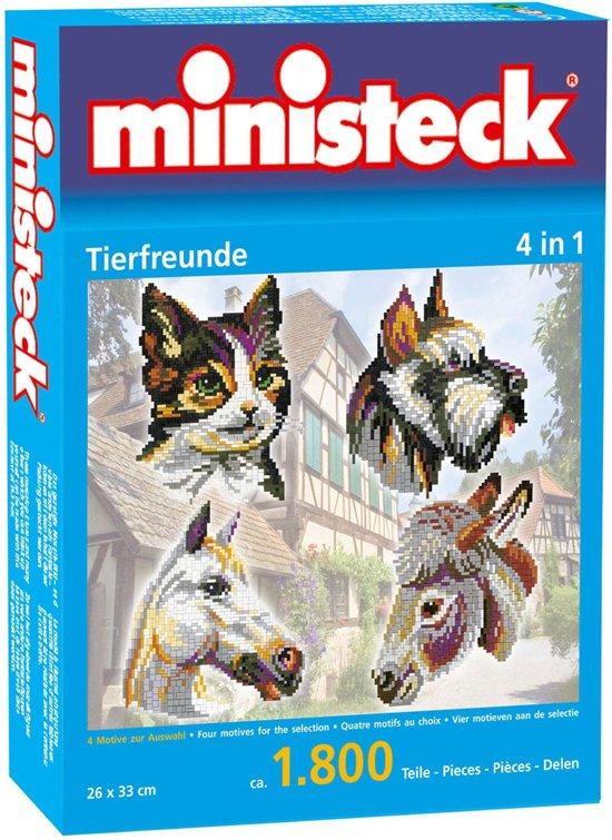 Ministeck Dierenvrienden 4 in 1