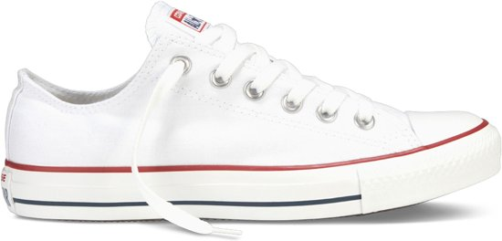 Unisex Chuck Converse Sneakers Maat Optical All Taylor 36 White Star qXawqr