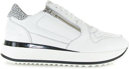 Rag Sneakers 76586Wit 39 Red Maat Dames SVMGzqUp