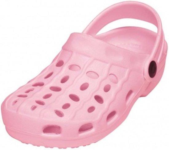 Playshoes waterschoenen EVA clog lichtroze