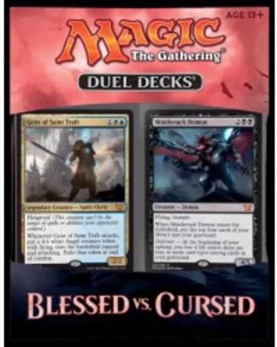 Afbeelding van het spel Magic The Gathering Blessed vs Cursed Duel Deck