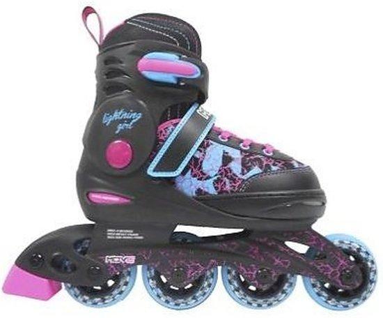 3e35dffbec3 bol.com   Move Inlineskates - Maat 38-41 - Meisjes - blauw/zwart/roze