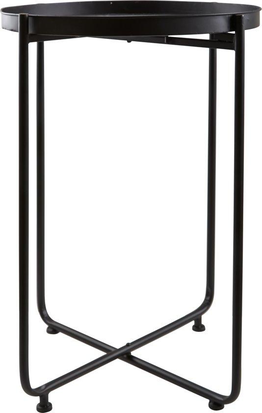 Bijzettafel - Villa Collection Denmark - zwart - 49 x 65 cm