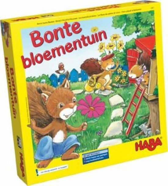 Spel - Bonte bloementuin (Nederlands) = Duits 4987 - Frans 5950
