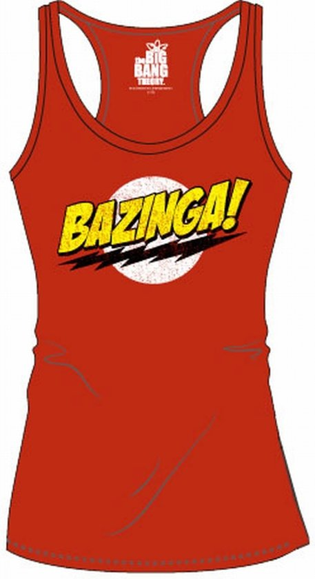 BIG BANG THEORY - T-Shirt Logo Top Tank - GIRLS (XL)
