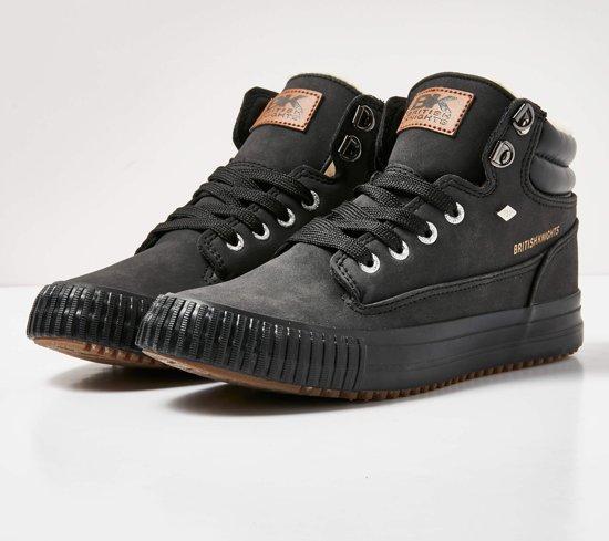 British Knights BUCK Dames sneakers hoog - Zwart - maat 40