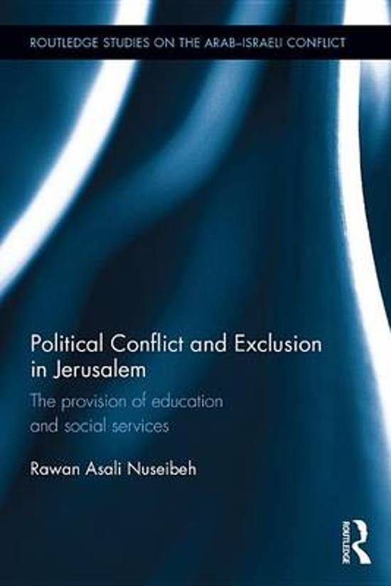 Political Conflict and Exclusion in Jerusalem