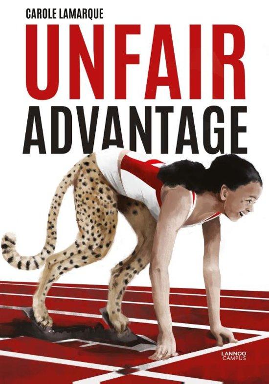 Boek cover Unfair advantage van Carole Lamarque (Paperback)