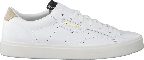 Adidas Dames Sneakers Sleek W - Wit - Maat 38⅔