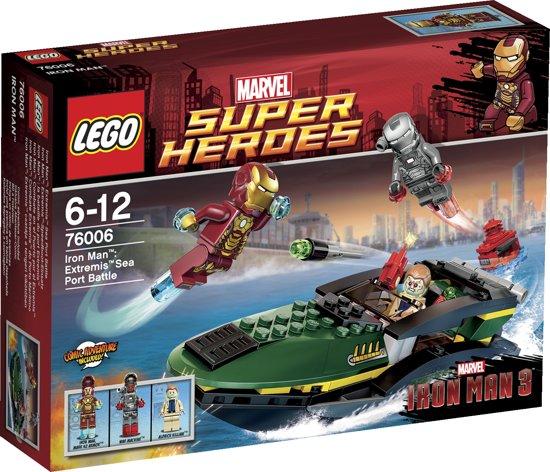 LEGO Super Heroes Extremis Havengevecht - 76006