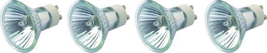 PROLIGHT halogeen reflectorlamp - 4 stuks - GU10 - 230V - 50W - dimbaar