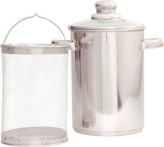 Cosy&Trendy Kookpan asperges met glazen deksel - Ø 16 cm Valentinaa