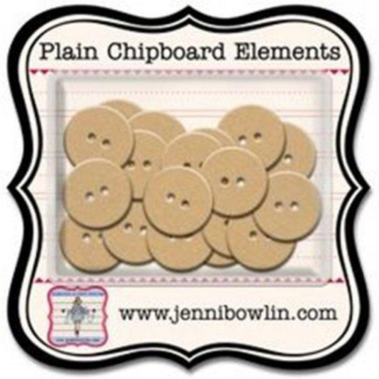 Jenni Bowlin mini chipboard pieces buttons