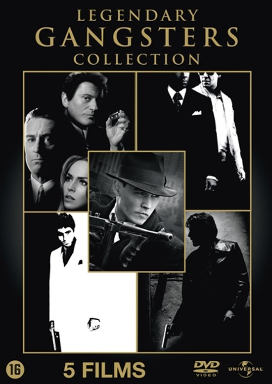 Cover van de film 'Legendary Gangster Box'