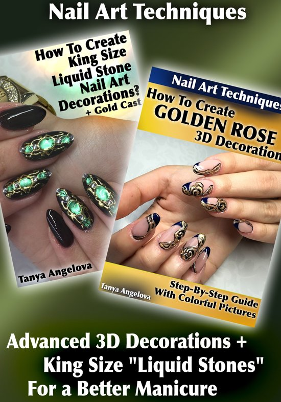 Bol Nail Art Techniques Advanced 3d Decorations King Size