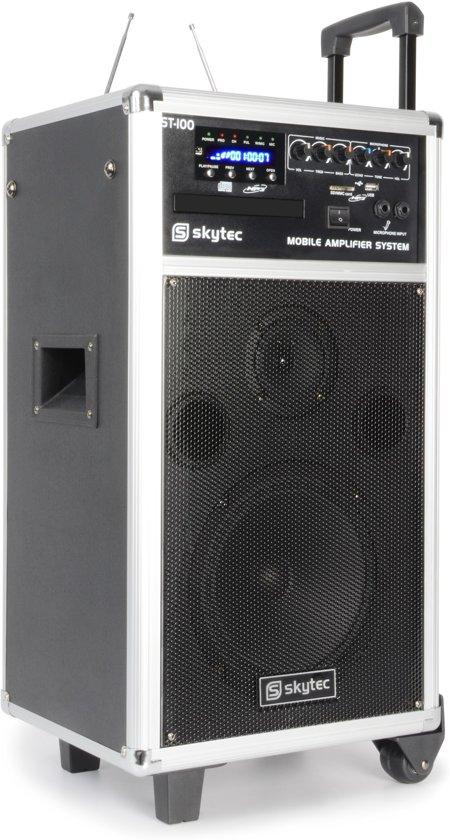 bol.com   Mobiele geluidset 250W met 2x draadloze microfoons