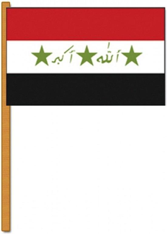 Luxe zwaaivlag Irak