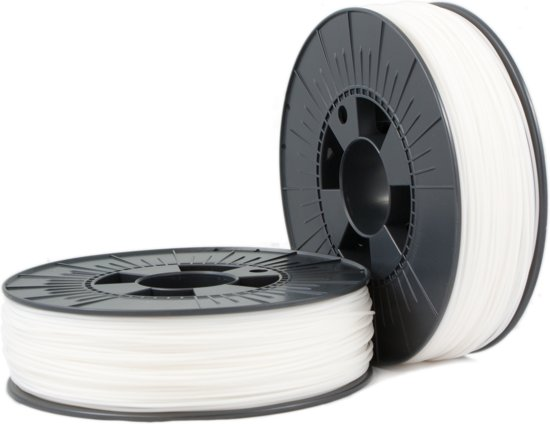 HIPS 2,85mm white 0,75kg - 3D Filament Supplies