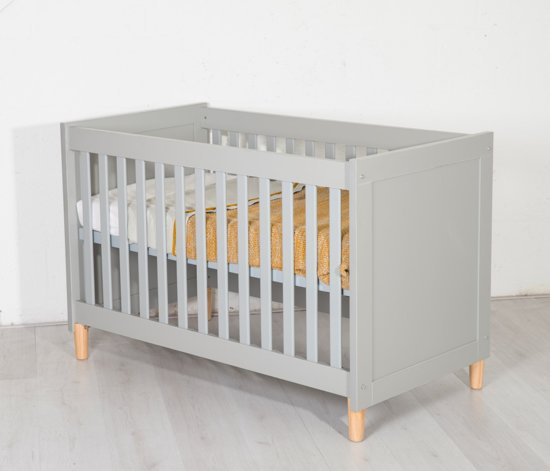 Cabino - Babykamer Kopenhagen - 3-delig - Grijs