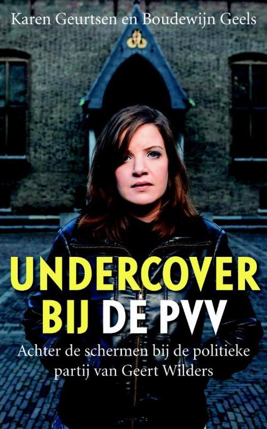 Undercover bij de PVV - Voorkant