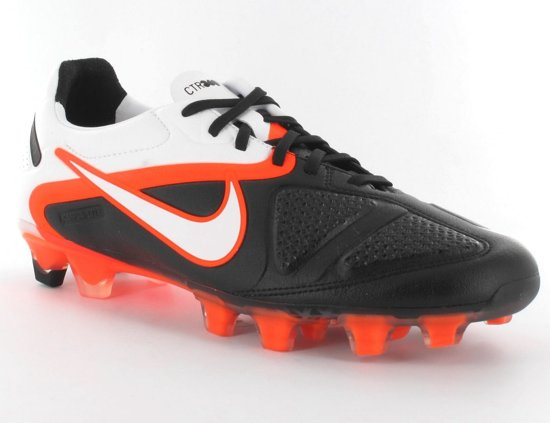 Nike CTR360 Maestri II FG - Veldvoetbalschoenen - Volwassenen - Maat 39 - Zwart/ Oranje/ Wit