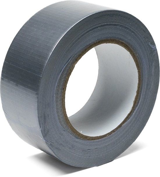 Duct-tape - Ducktape grijs - 50mm x 50m - per rol