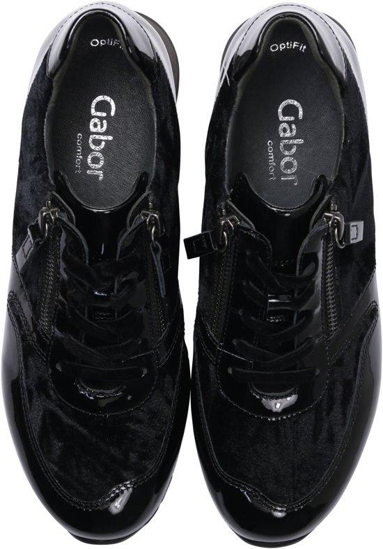 Gabor 96369 Sneakers 42 Vrouwen Maat Zwart rqRzgrxwp