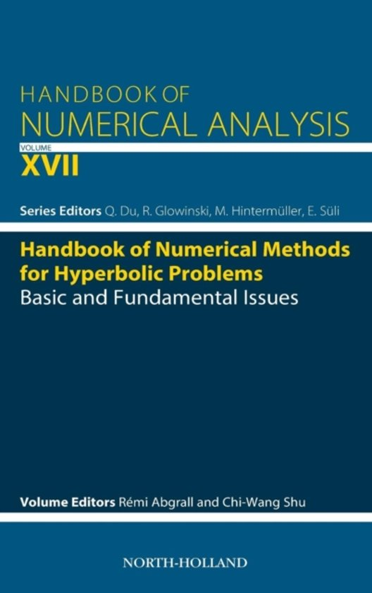 Handbook of Numerical Methods for Hyperbolic Problems