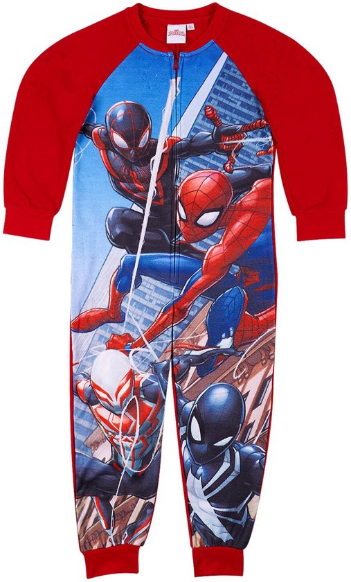 Spider-Man-Overal-rood-maat-110