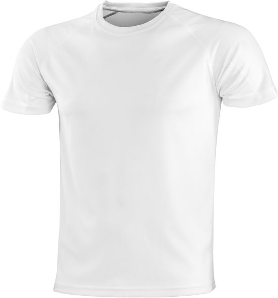 ddff9725cb5 Senvi Sports - Impact Aircool Sport Shirt - Wit - XXXXXL (5XL) - Unisex