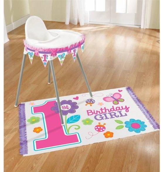 Bolcom Kinderstoel Versiering Voor De Eerste Verjaardag Meisje