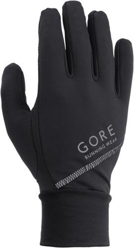 GORE RUNNING WEAR Essential handschoenen zwart Handschoenmaat XL