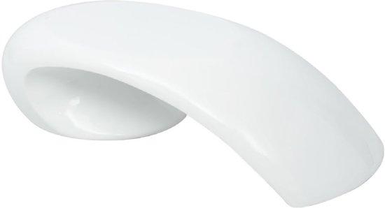 Salontafel Glas (Incl dienblad) Wit - woonkamer tafel - decoratie tafel - salon tafel - wandtafel - Koffietafel