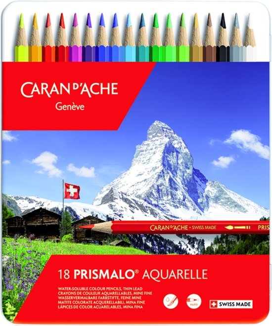 Caran d'Ache Prismalo Aquarel Kleurpotloden