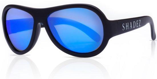 b03c1b4678f32d SHADEZ - Onbreekbare baby zonnebril - UV 400 zonnebril baby peuter - Zwart  met Blauwe