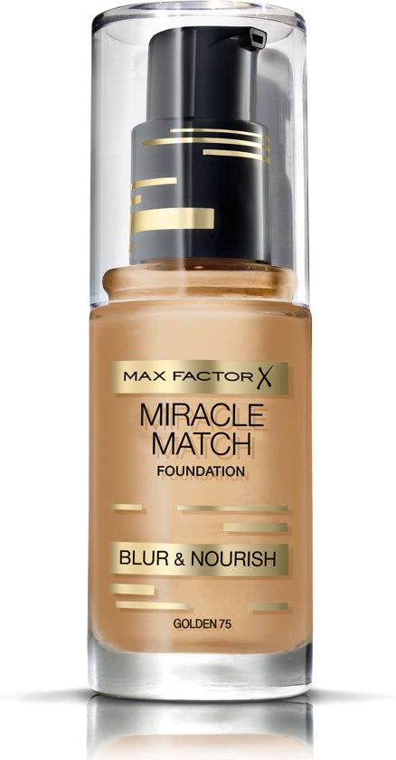 Max Factor Miracle Match Blur & Nour - 75 Golden - Foundation