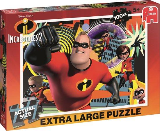 Disney The Incredibles 2 Puzzel 100 XL Stukjes