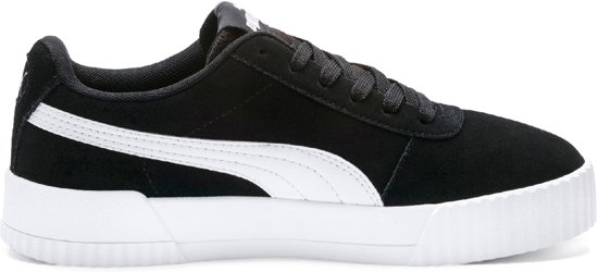 ae3b23ba663 PUMA Carina Sneakers Dames - Puma Black   Puma Black   Puma Silver - Maat  40.5