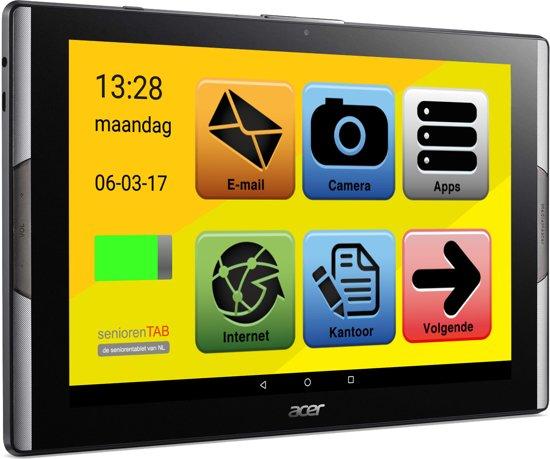 Acer Senioren tablet- tablet voor ouderen (Full HD)