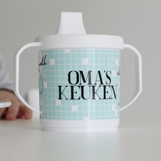 Oma's Keuken servies set mint incl. tuit