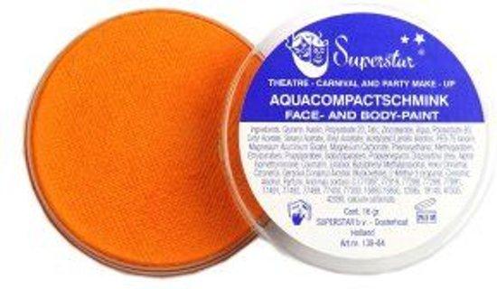Aquaschmink licht oranje 16gr