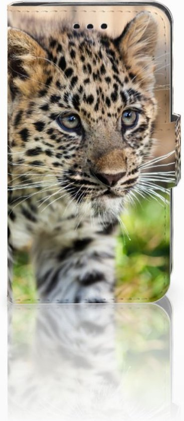 Samsung Galaxy Trend 2 Leuk Hoesje Baby Luipaard in Diepenbeek