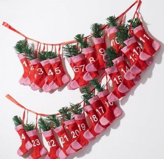 Adventkalender Rode Sokken