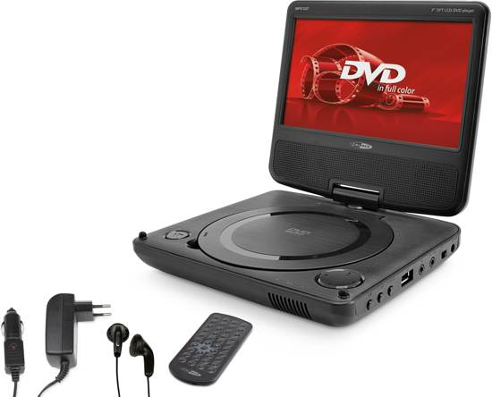 Caliber MPD107 - Portable DVD - 7 Inch - Zwart